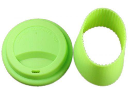矽膠隨手杯套和杯蓋