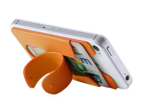 黏性矽膠手機信用卡座