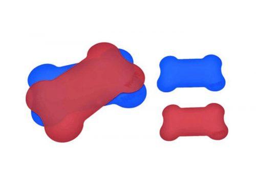 骨頭造型矽膠寵物墊