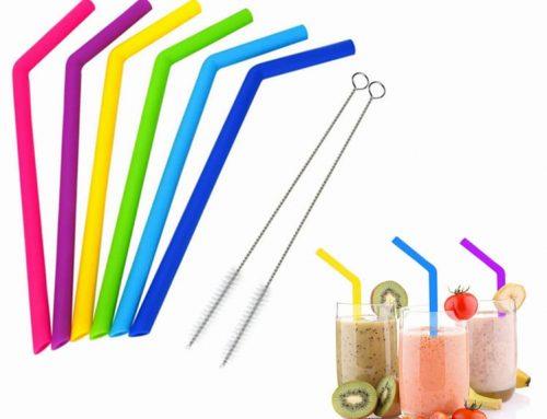 限制使用塑膠吸管後的替代品 — 矽膠吸管